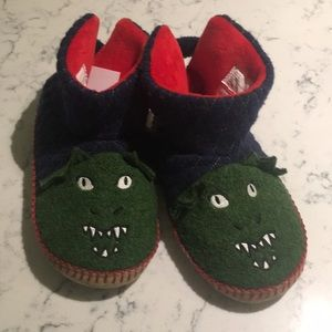 Hannah Andersson Monster Slippers